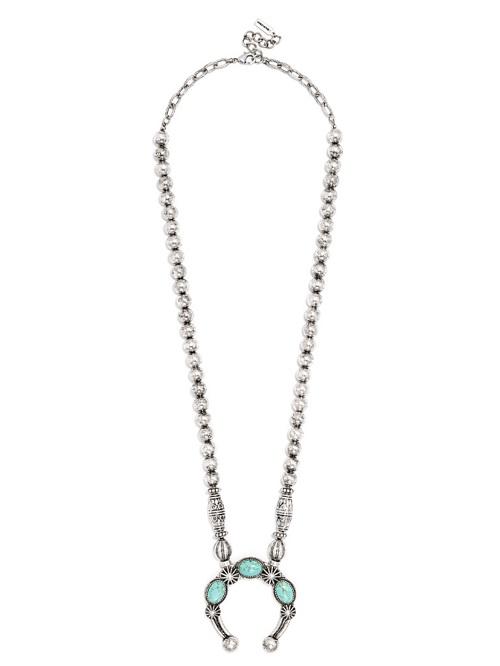 Poseidon Pendant Necklace, $30, baublebar.com