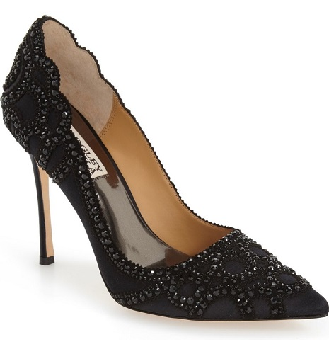 Badgley Mischka 'Rouge' Pointy Toe Pump, $255, nordstrom.com