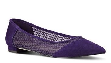 Ananie Pointy Toe Flats, $59.99, ninewest.com