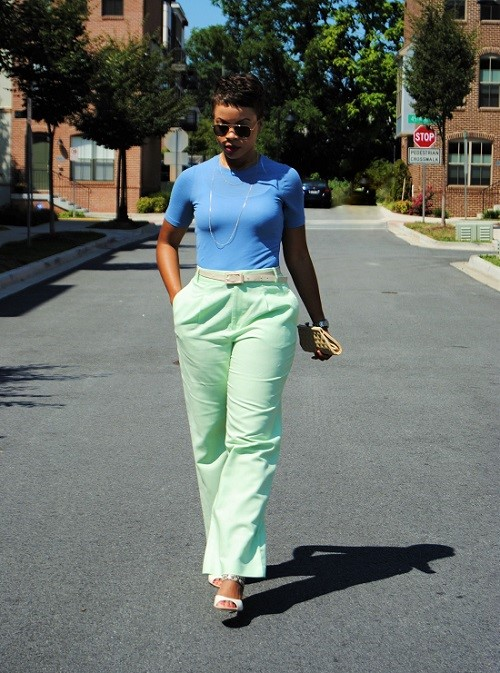 What I'm Wearing: Pastel Colors