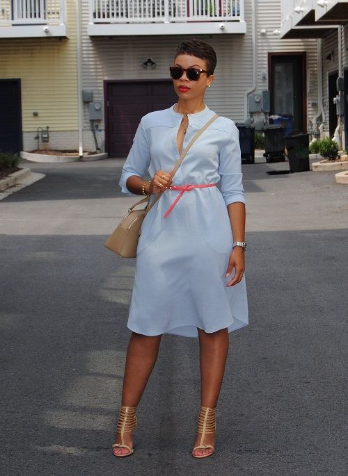 What I'm Wearing: The Shirt Dress