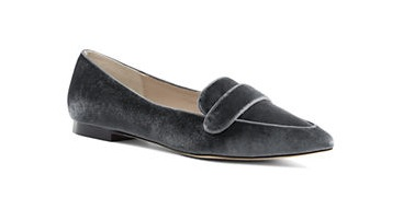 Women's Velvet Skimmer Shoes, $75, landsend.com