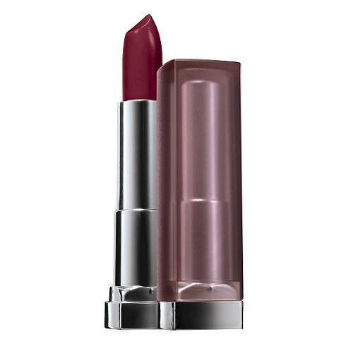 Maybelline Color Sensational Creamy Matte Lip Color in Burgundy Blush, $8, target.com