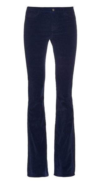 M.I.H. Jeans Marrakesh Mid-Rise Kick-Flare Velvet Trousers, $96, matchesfashion.com