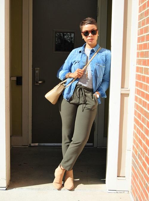What I'm Wearing: Denim Shirt (Photo by Browne Imaging)