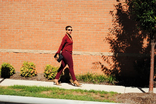 What I'm Wearing: Bordeaux