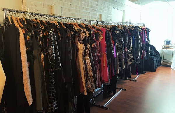 Racks and racks full of stylish finds. Most items were $25 or less.