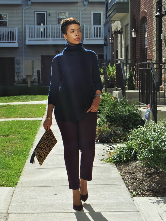 What I'm Wearing: Chunky Turtleneck Sweater