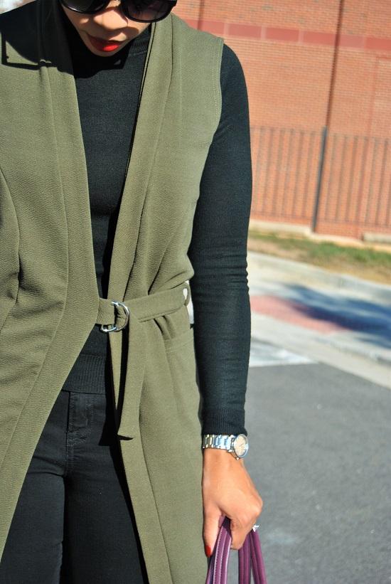 What I'm Wearing: Belted Longline Vest