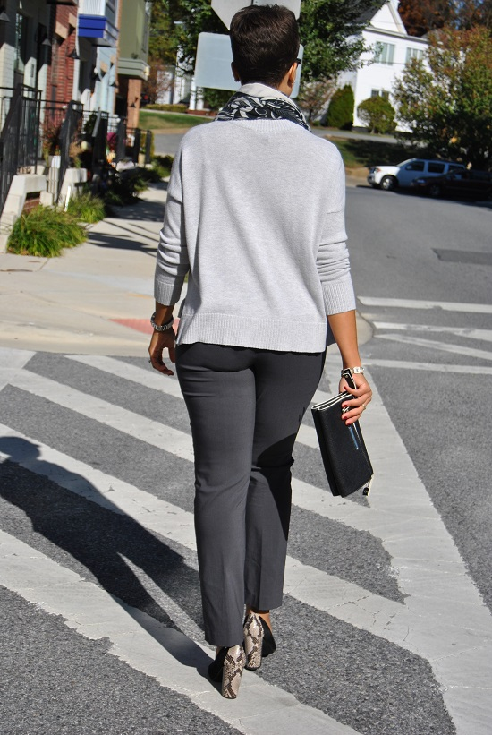 What I'm Wearing: Shades of Gray