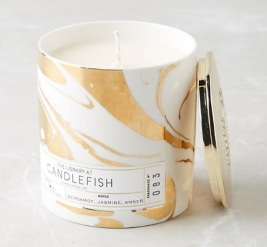 Candlefish Ceramic Candle, $28, anthropologie.com
