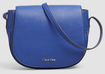 Nina Saddle Bag, $54 (after 50% discount), calvinklein.com