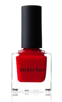 Mischo Beauty Luxury Nail Lacquer in 'Good Kisser,' $18, mischobeauty.com