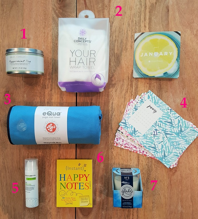 What's in my January Popsugar Must-Have Box?